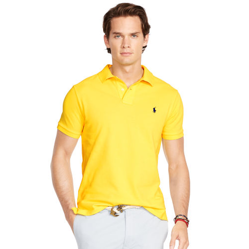 Slim Fit Mesh Polo Shirt 87752976