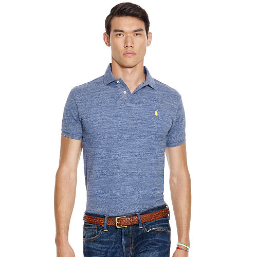 Custom Fit Mesh Polo Shirt 87952606