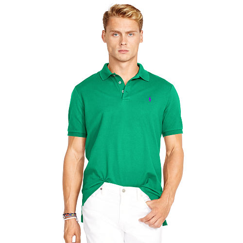 Custom Fit Stretch Mesh Polo 80054666