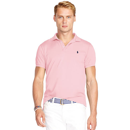 Slim Fit Stretch Mesh Polo 84775796