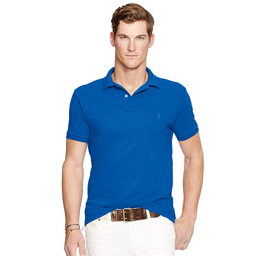Slim Fit Mesh Polo Shirt 92296036