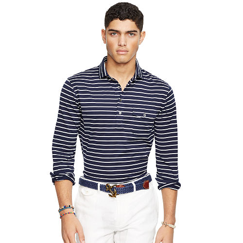 Striped Cotton Jersey Popover 93752006