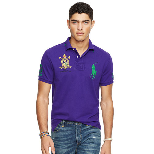 Custom Fit Big Pony Polo Shirt 89017286