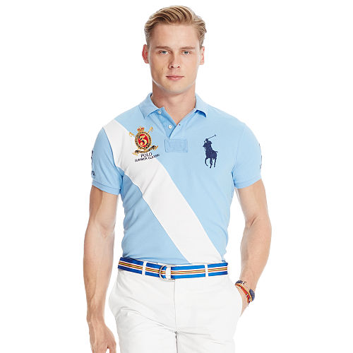 Custom Fit Banner Polo Shirt 89017336