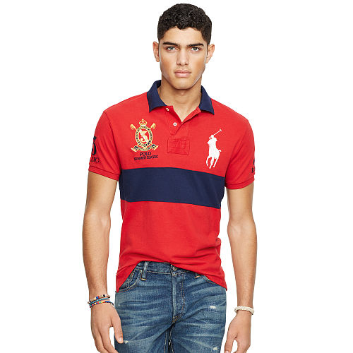 Custom Fit Big Pony Polo Shirt 89017346