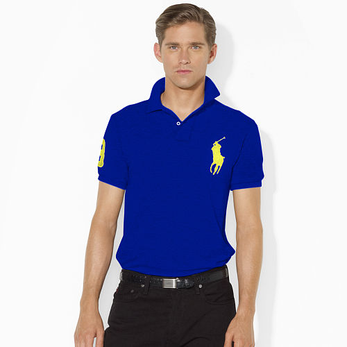 Slim Fit Big Pony Polo Shirt 80054756