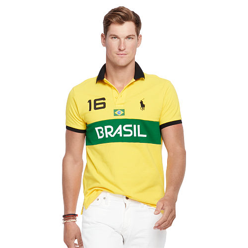 Custom Fit Brasil Polo Shirt 93752236
