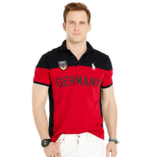 Custom Fit Germany Polo Shirt 93752246
