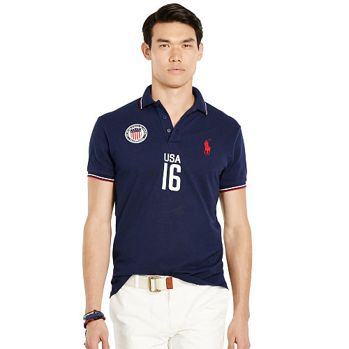 Custom Fit USA Polo Shirt 93752256