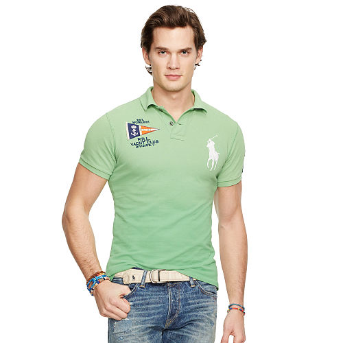 Custom Fit Nautical Polo 94664426
