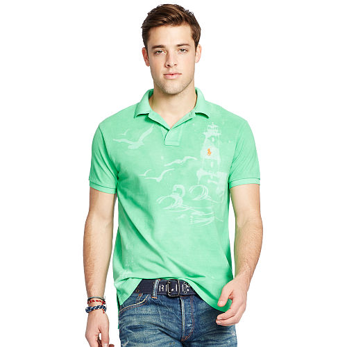 Custom Fit Printed Polo 93751986
