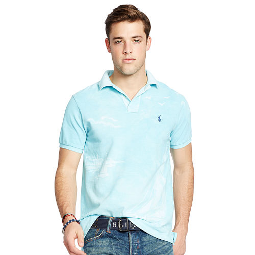 Custom Fit Printed Polo 93752216