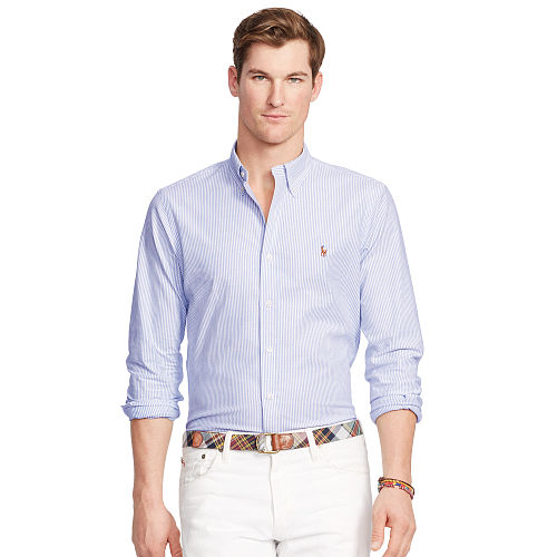 Slim Fit Stretch Oxford Shirt 84776756