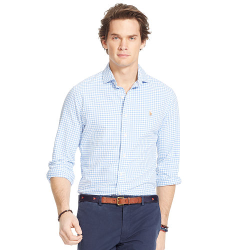 Gingham Oxford Sport Shirt 84776826