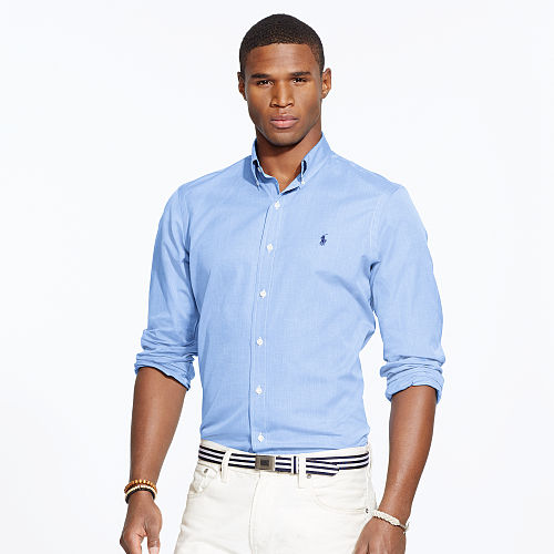 Solid Cotton Poplin Shirt 69957476