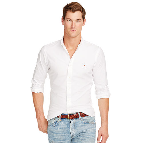 Slim Fit Stretch Oxford Shirt 84768316