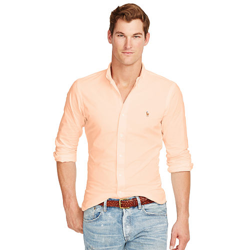 Slim Fit Stretch Oxford Shirt 84776746