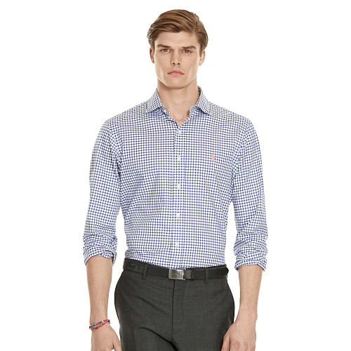 Slim Fit Gingham Twill Shirt 89234946