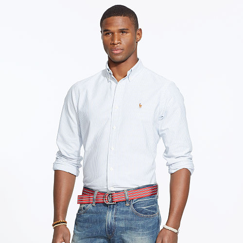 Striped Oxford Sport Shirt 59460726
