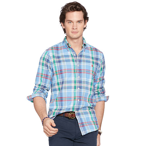 Plaid Double Faced Sport Shirt 88639986