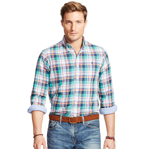 Plaid Double Faced Sport Shirt 88639996