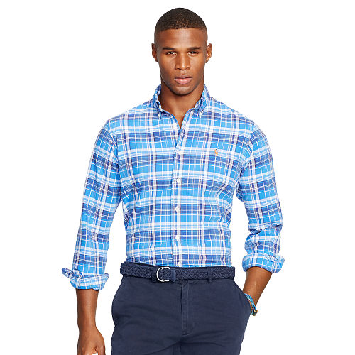 Plaid Oxford Sport Shirt 88639696