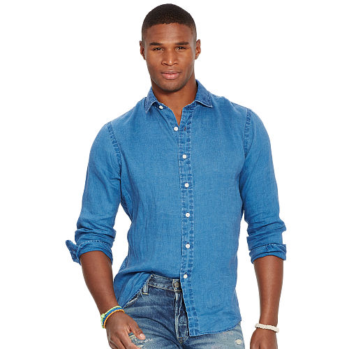 Estate Indigo Linen Shirt 88640006