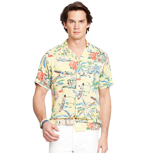 Hawaiian Camp Shirt 93751916