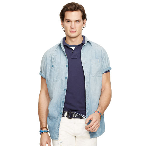 Nautical Chambray Workshirt 94664476