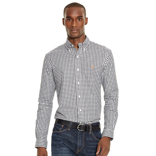 Slim Fit Checked Oxford Shirt 84776776