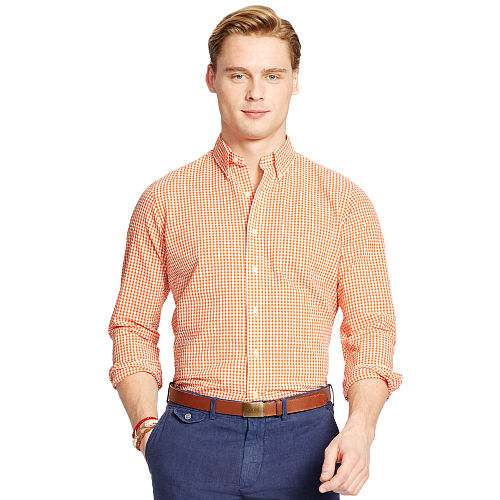 Gingham Seersucker Sport Shirt 93751966