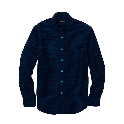 Estate Slim Indigo Shirt 89234796