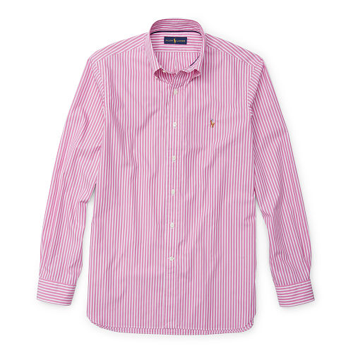 Striped Poplin Sport Shirt 84776736