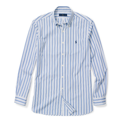 Striped Cotton Poplin Shirt 80054416