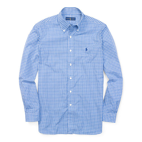 Plaid Poplin Sport Shirt 80054826