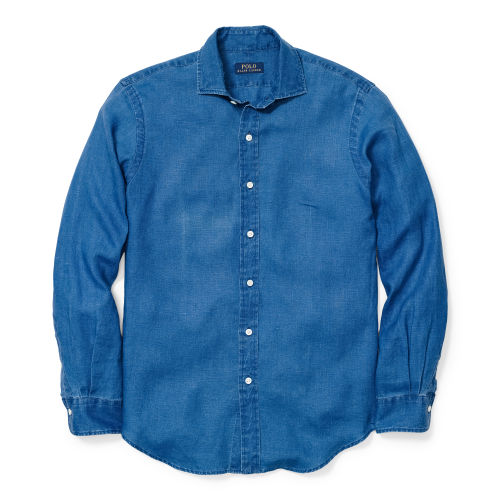 Estate Indigo Linen Shirt 80705786