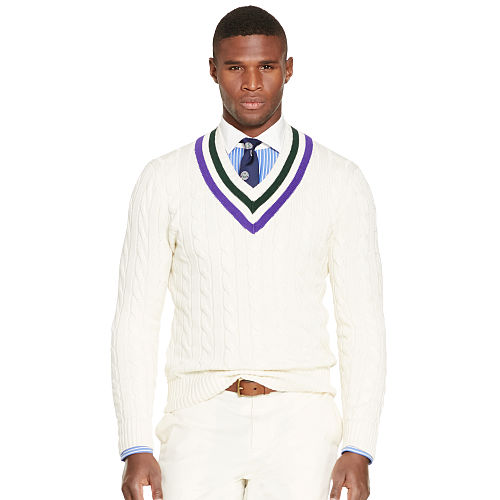 Wimbledon Umpire Pima Sweater 93396756