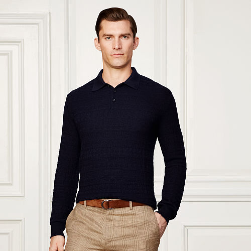 Collared Cashmere Sweater 86560916