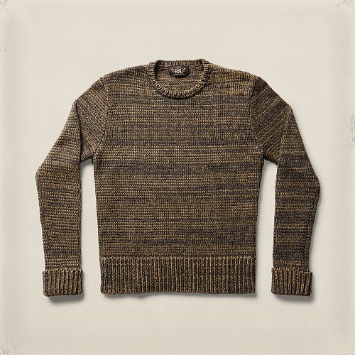 Wool Cotton Crewneck Sweater 84546826