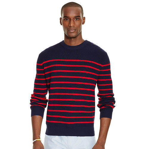 Striped Cotton Sweater 88639926