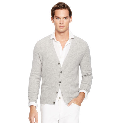 Slim Washed Cashmere Cardigan 80053736