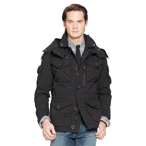 Hooded Combat Jacket 88200386