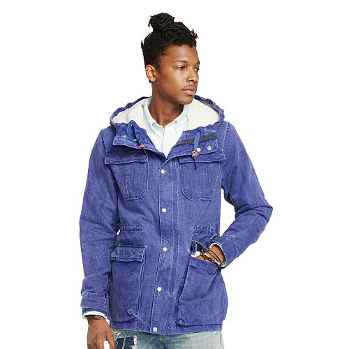 Cotton Canvas Hiking Jacket 88485596