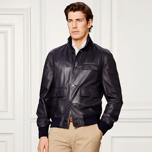 Hayworth Leather Skeet Jacket 78984426