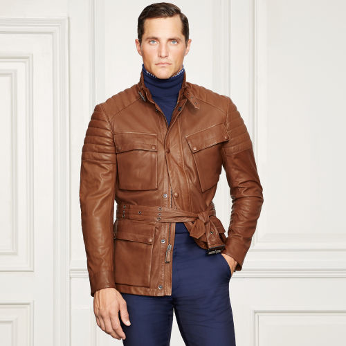 Harpur Leather Moto Jacket 81245866