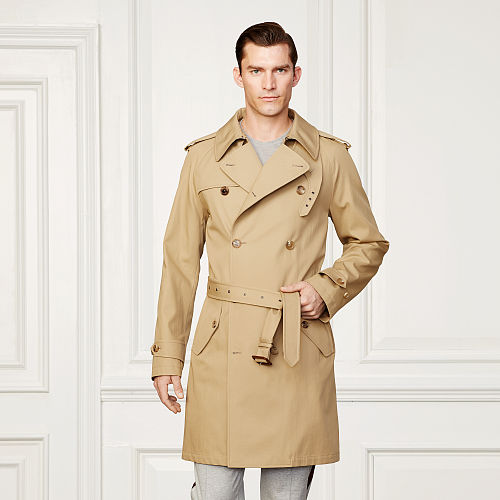 Claremont Twill Trench Coat 80569856