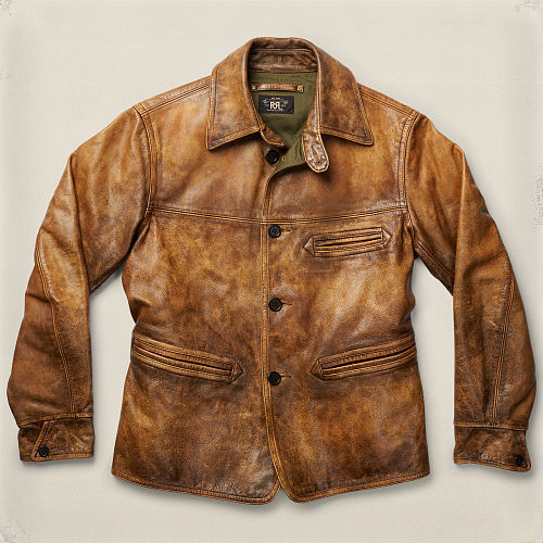 Barrigner Cowhide Coat 84169766