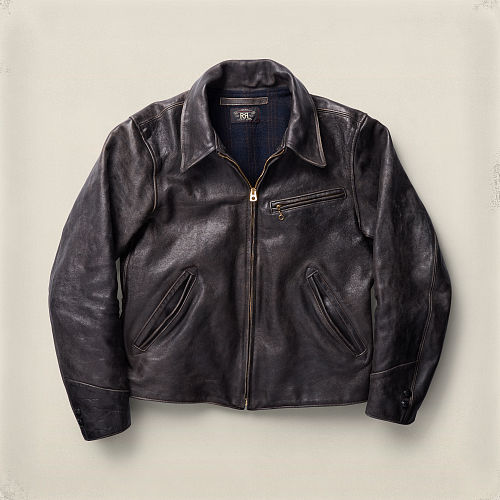 Leather Jacket 84250356