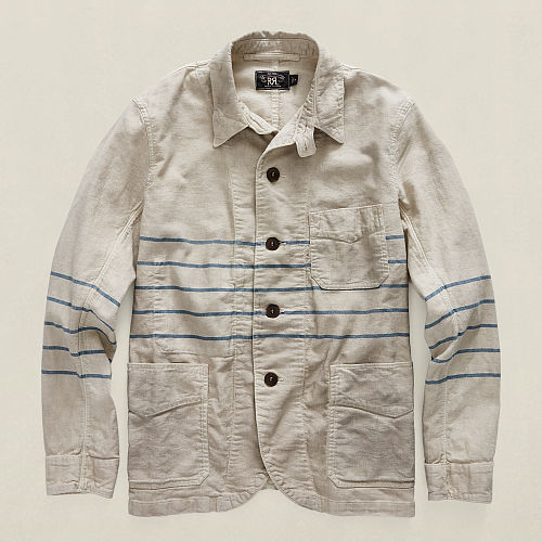 Striped Canvas Jacket 90497046
