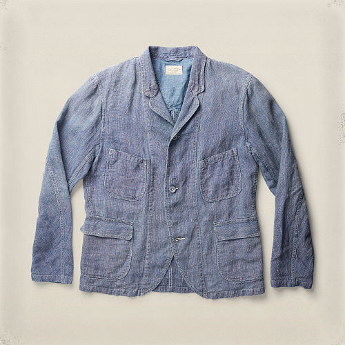 Williamson Indigo Linen Jacket 90497406